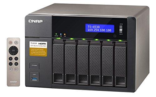 Nas Qnap ts-653a 4G 6-Bay Intel Celeron 6TB WD RED