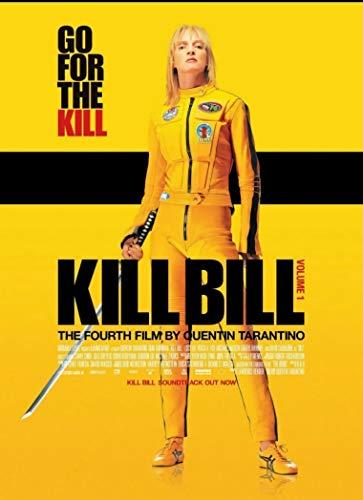 """Theissen IT-00080 Tarantino Kill Bill Vol 1 Uma Thurman Movie Film Poster Frameless Gift 11 x 17"""""""