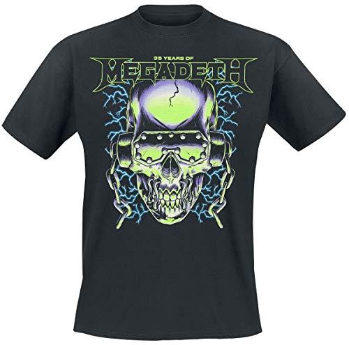Megadeth 35 Years Electrifying T-Shirt schwarz S