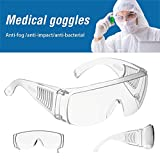 Gafas Protectoras De Seguridad Completamente Cerradas Anti-Virus Saliva Gafas Transpirables Antiniebla Antiniebla Máscara Transparente Transparente para Los Ojos