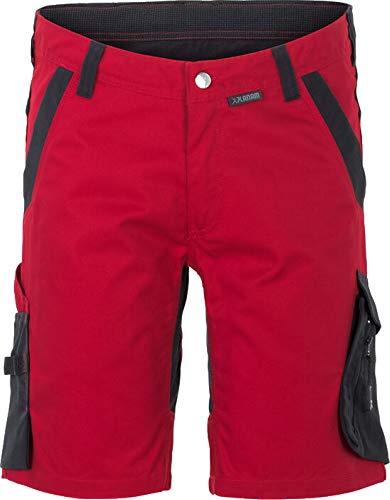 Planam by Gödecke Textil Norit Damen Shorts (M, rot-schwarz)