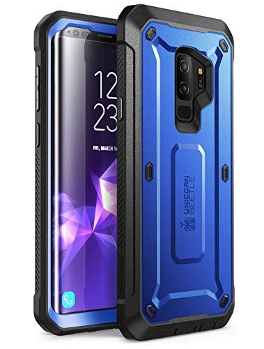 SupCase Funda Galaxy S9 Plus [Unicorn Beetle Pro Series] 360 Grados Carcasa Completa con Protector de Pantalla Incorporado (Azul Oscuro)