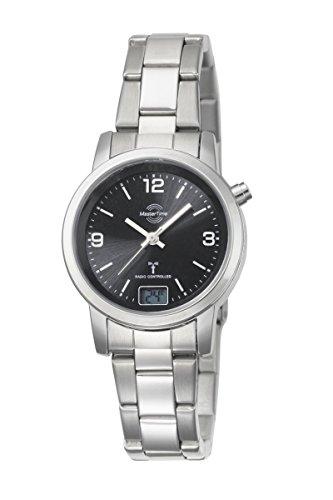 Master Time Funk Quarz Damen Uhr Analog-Digital mit Edelstahl Armband MTLA-10303-21M