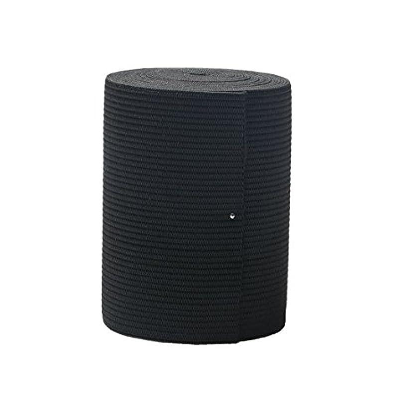 3-inch Black Knit ELASTIC Spool Wide Heavy Stretchy Band,5 Yards