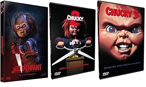 Chucky : La Trilogie - Chucky Jeu D'enfant - Chucky 2 - Chucky 3 [DVD]