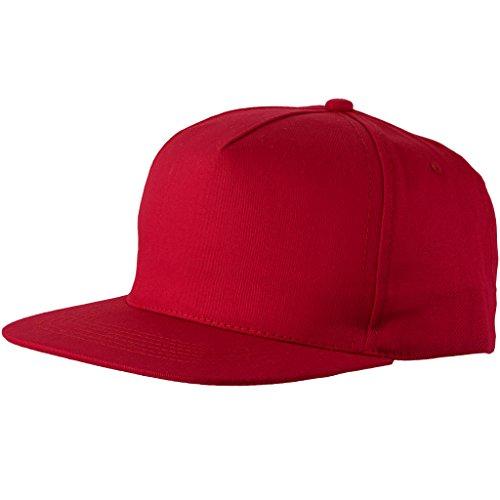 Bullet - Gorra de béisbol (Paquete de 2) (Talla Única) (Rojo)
