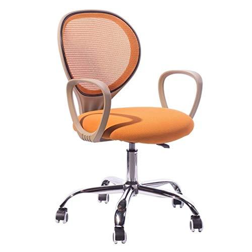 DFMD ergonomie van het ademende tricots minimalistisch minimalistisch bureaustoel met draaibare stoelen Moda kantoor woonkamer, slaapkamer, computerstoel, oranje, violet
