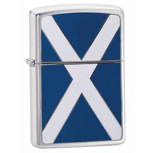 Zippo scozzese Bandiera Accendino