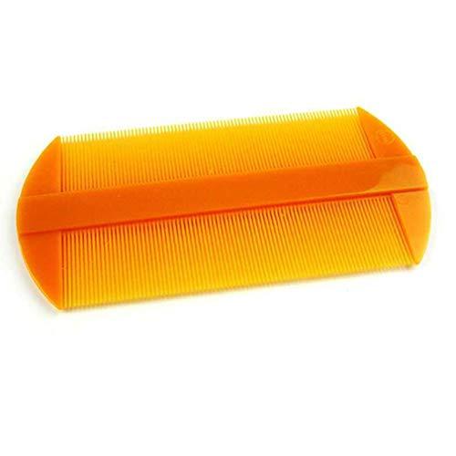 FAEIO Multifunktion antistatisch Super Narrow Dent Läuse Kamm - Einfach zu säubern - Bartkamm Aus hochwertigem Kunststoff - Geeignet zum Abtöten von Schamläusen und Milben 5 pcs Lice Combs
