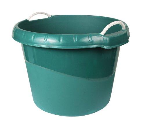 Kerbl 323539 Wasser- und Futtertrog ca. 45 L, grün