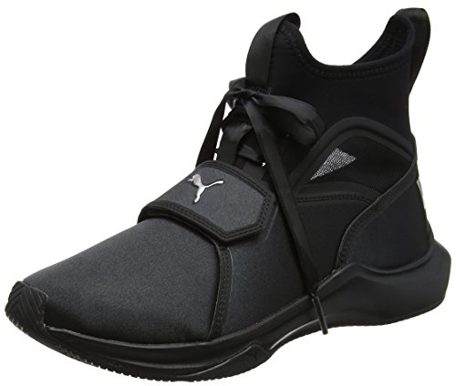 Puma Damen Phenom Satin EP WN's Cross-Trainer, Schwarz Black, 39 EU