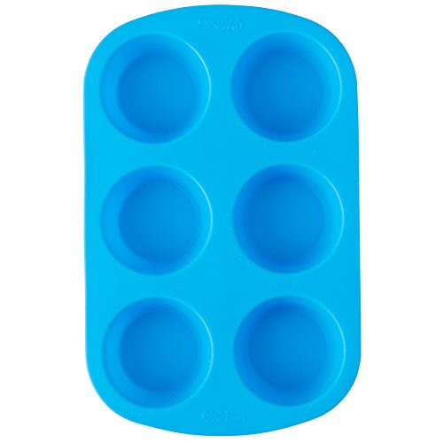 Wilton Easy-Flex Silicone Muffin and Cupcake Pan 6-Cup