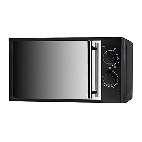 Eurowebb Micro-Ondes avec Grill à Effet Miroir 20 L 700W Noir - Electroménagers