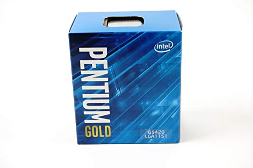 Intel Pentium Gold G5420 - Processore desktop 2 Core 3,8 GHz LGA1151 serie 300, 54 W