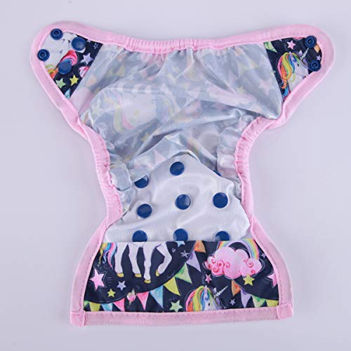 Newborn Baby Diaper Nappy Cover Girls 8lbs-10lbs (Horse)