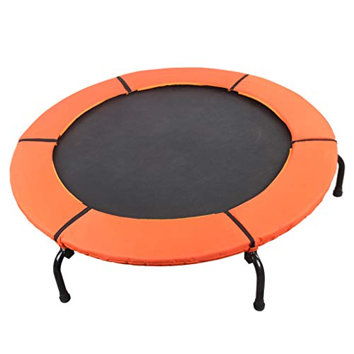 Outdoor Garden Jumping Rebounder Bouncer Trampoline Fitness Exercise Bouncer Lean Aerobic Sport Bungee Bed Padded Frame Cover Sports Weight Loss Device Gym Equipment Elasticity Slimming