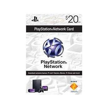 Sony PlayStation 94781 PSN 20 dollar live card