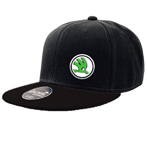 SHIRT-TO-GO Fun Cap original Snapback schwarz Skoda digital