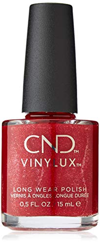 CND Vinylux nagellak Kiss of Fire rood