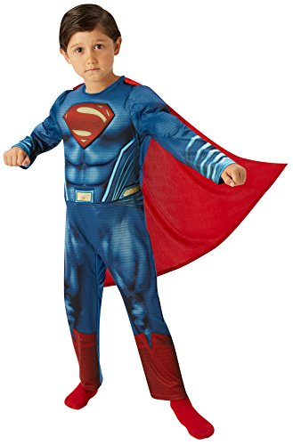 Rubie's-déguisement officiel - Dawn of Justice- Déguisement Luxe Superman Dawn Of Justice - Taille XL- I-620557XL