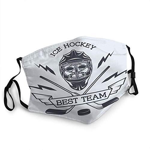BIT Field Kull Helmet Goalkeeper The Emblem Ice Hockey Reusable Face Mask Replaceable Fashion Design