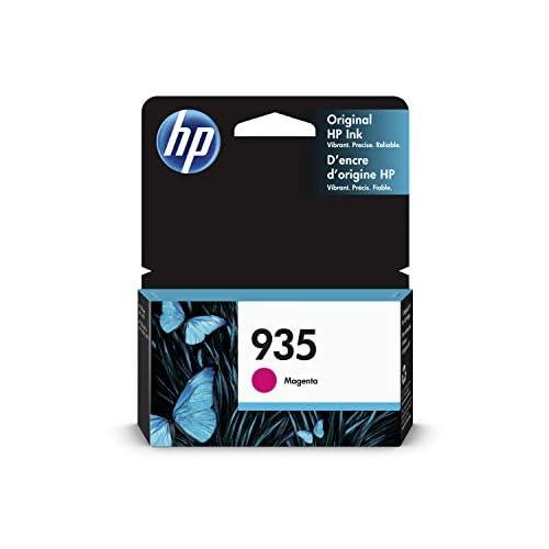 HP 935 C2P21AE Cartuccia Originale per Stampanti a Getto di Inchiostro, Compatibile con OfficeJet 6820; OfficeJet Pro 6230 e 6830, Magenta