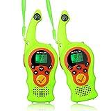 Retevis RT675 Walkie Talkie Niños 16 Canales PMR446 VOX Linterna Bloqueo de Teclado Juguetes Niños Regalo Walkie Talkie Infantil con 2 Cordones (1 Par, Verde)