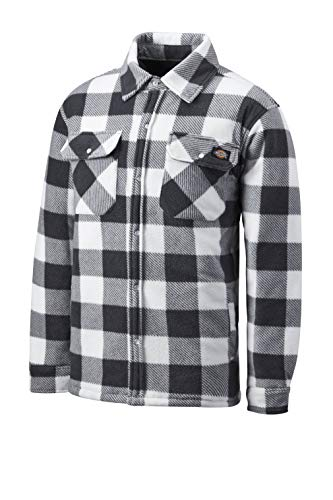 Dickies Holzfällerhemd Thermohemd Portland (L, weiß/grau)
