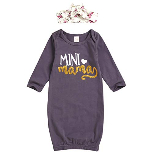 Tianhaik Baby Unisex Lange Mouw Draagbare Slaapzak Pasgeboren Swaddle Zak Deken + Hoofdband