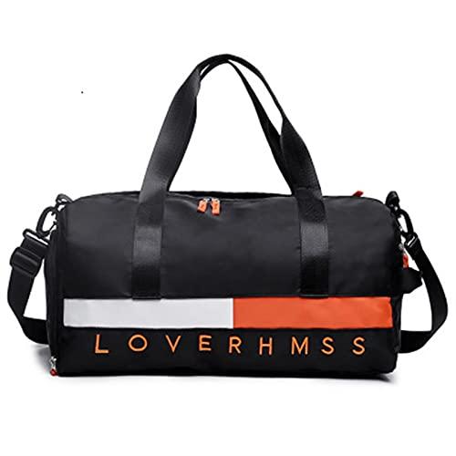 Borsa Sportiva, Borsoni Da Palestra Borse sportive all'aperto scarpe da uomo da uomo borse da palestra per borsa da allenamento fitness viaggio sport borsa da viaggio impermeabile ( Color : Black )
