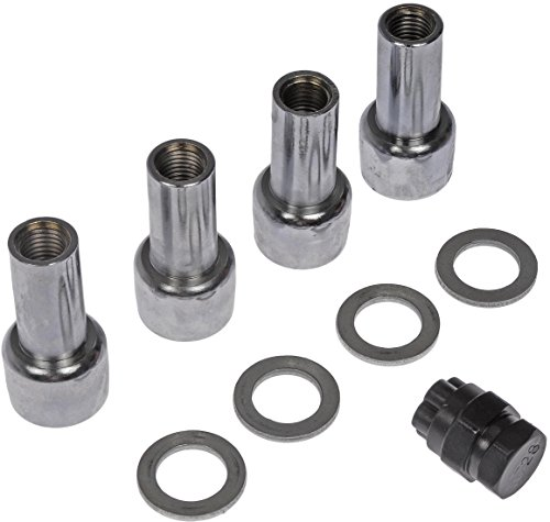 Dorman 711-322 Pack of 4 Lock Nuts with Key