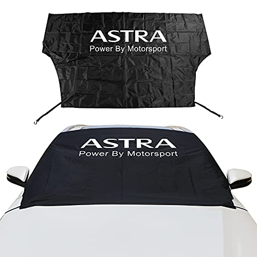 Coche Sun Shade Parasol Coche Invierno Parabrisas Bloque de Nieve Ventana Delantera Sun Shade Cubiertas Compatible con Opel Astra Corsa Insignia Mokka OPC Vectra Auto Accesorios Mascotas Pueden Estar