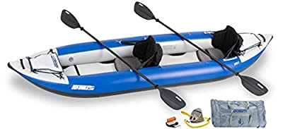 """380XK_P Sea Eagle Explorer Inflatable Kayak with Pro Accessory Package, 12' x 6"""" from SeaEagle"""