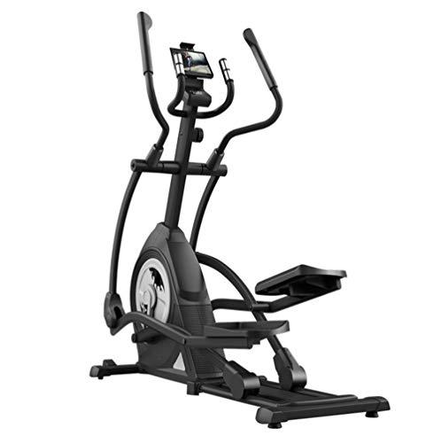 YQ&TL Bicicleta Elíptica para casa Multifuncional Máquina elíptica Home Fitness Stepper Escalador Space Walker Gym 8 segmento Manual Control magnético Resistencia