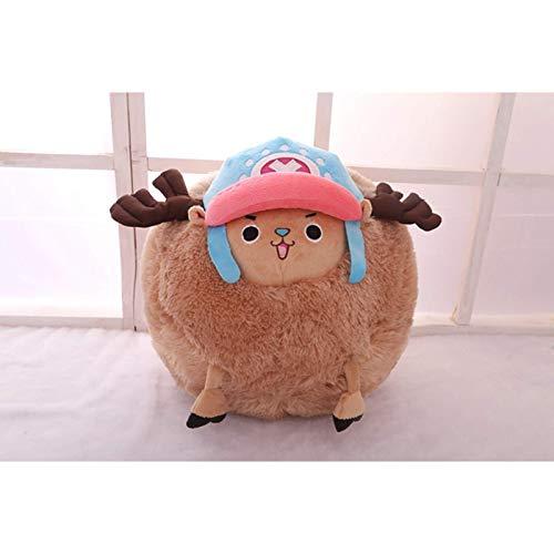 35 cm Chopper Einteiliges Plüschtier Anime Einteiliges Chopper Plüschtier Anime Plüschpuppen Wintergeschenke für Mädchen Einteiliges Anime Merchandise