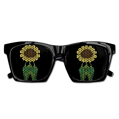 Elephant AN Themed Novelty Plants Vs Zombies Sunflower Creative Visual Mesh Sunglasses Fun Props Party Favors Gift Unisex