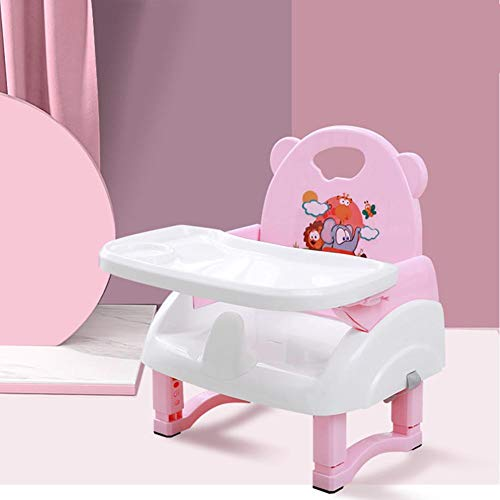 Luxuriöser Und Bequemer Klappstuhl Zur Erhöhung Der Höhe, Kinder-Baby-Esszimmerstuhl, Höhenverstellbar, Leicht Zu Reinigen, Geeignet Für Den Kompakten Kindersitz Für Kinder Von 0 Bis 3 Jahren