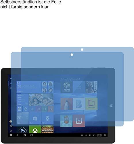 4ProTec I 2X Premium Bildschirmschutzfolie für Trekstor SurfTab Twin 10.1 (2017) Displayschutzfolie ANTIREFLEX Schutzhülle Bildschirmschutz Bildschirmfolie Folie