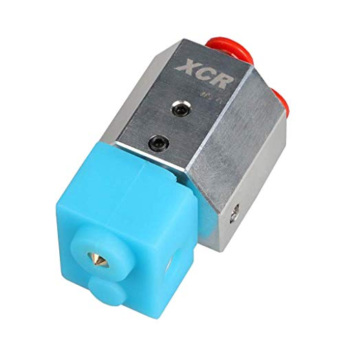 Tubayia Metal Water Cooler Hotend Water Cooling Hotend for MK8 Extruder 3D Printer