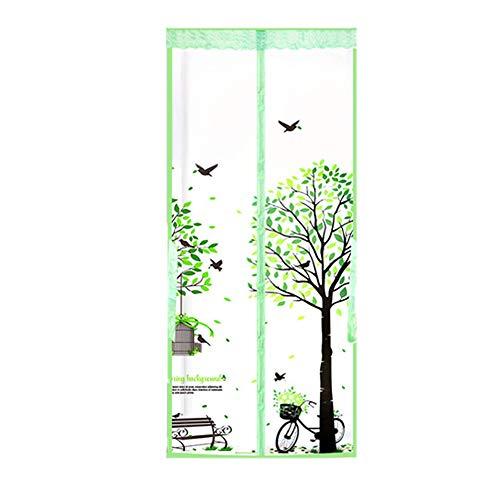 Deurgordijn, magnetisch, stil, airconditioning, EVA-isolatie, badkameretiketten, waterdicht, winddicht en vochtafstotend.