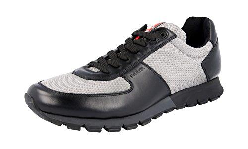 Prada Herren Mehrfarbig Leder Sneaker 4E2642 43.5 / UK 9.5