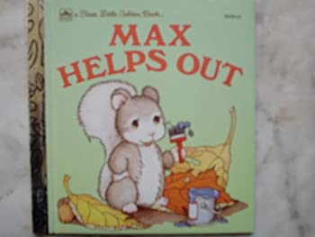 Max Helps Out - Book  of the Little Golden Books