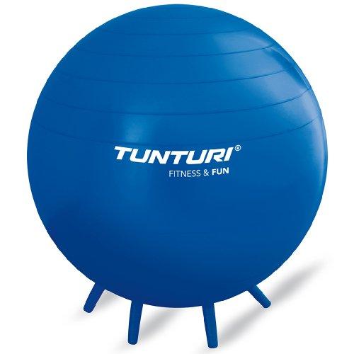 Tunturi Fun Übungsball zum Sitzen Blau blau 65 cm
