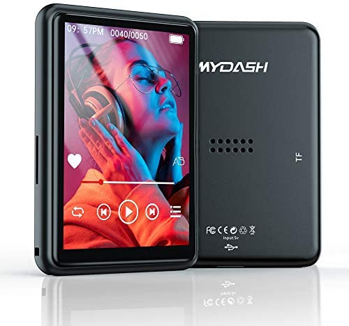 MP3 Player with Bluetooth 2 4 Touch Screen Music Player 16GB Portable MP3 Player with Speakers product image