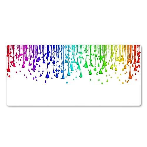 FLOYST Cojín Lavable Colorido del Cuaderno de la Estera de la Cerradura del Caucho Natural de la Alfombrilla de ratón para el Videojugador