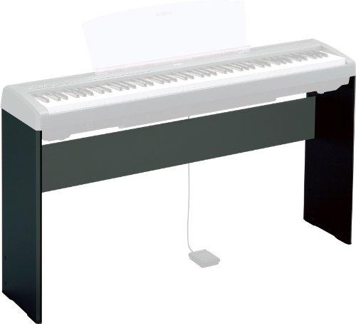 Yamaha L-85 Coppia di Supporti per Pianoforte Digitale, Nero