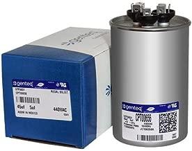 CPT00656-45 + 5 uf MFD 440 Volt VAC - Genuine OEM Trane Round Dual Run Capacitor
