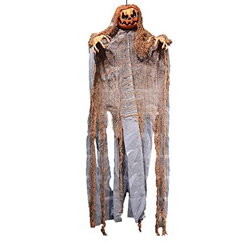 Decoraciones De Fantasmas Colgantes De Halloween, Accesorios De Miedo De Fantasmas De Esqueleto Colgante, Accesorios De Decoración De Fantasmas Temblorosos Para Casa Embrujada, Patio Al Aire Libre