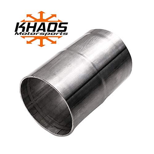 1 3//4 1.75 inch Exhaust Flange Flat Oval Split Repair Replacement Khaos Motorsports