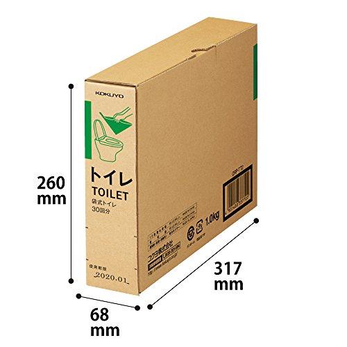 KOKUYO(コクヨ)『袋式トイレ30回分』